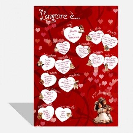 Bien connu Idee per il tableau con cuori - Organizzazione matrimonio - Forum  UE72