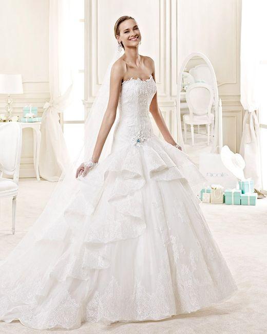 f56d8b1549a7 Collezione abiti da sposa Nicole Fashion Group 2015