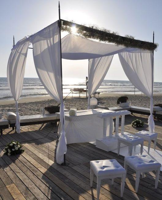 Matrimonio Simbolico In Spiaggia : Dove celebrare un matrimonio all americana in spiaggia con