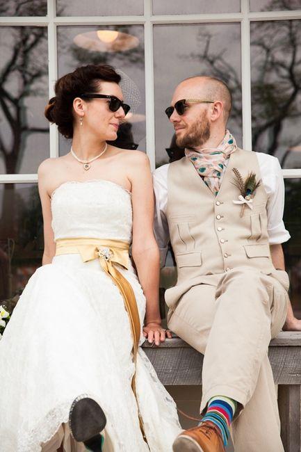 Sposa con gli occhiali da sole: sì o no?
