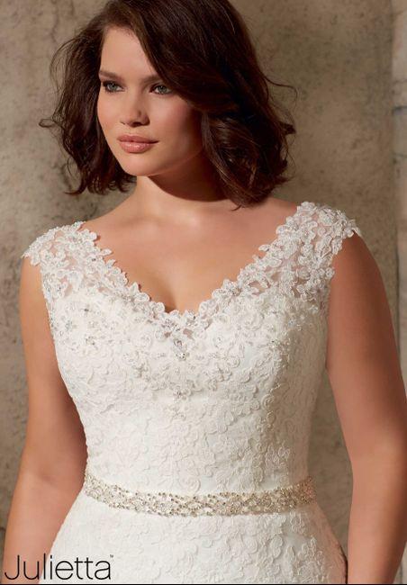 L abito da sposa di oggi 1 dicembre 2014 - mori lee - julietta ... daedd4333f9