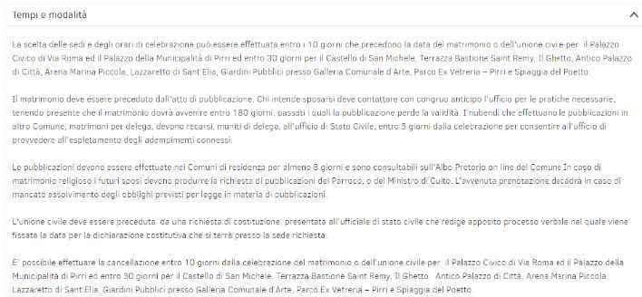 Rito Civile al Castello di San Michele a Cagliari