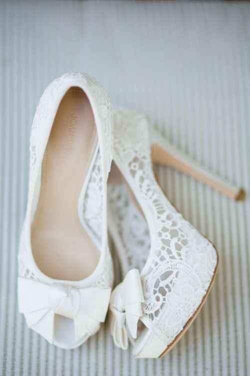 Scarpe da sposa con plateau: sì o no? 1