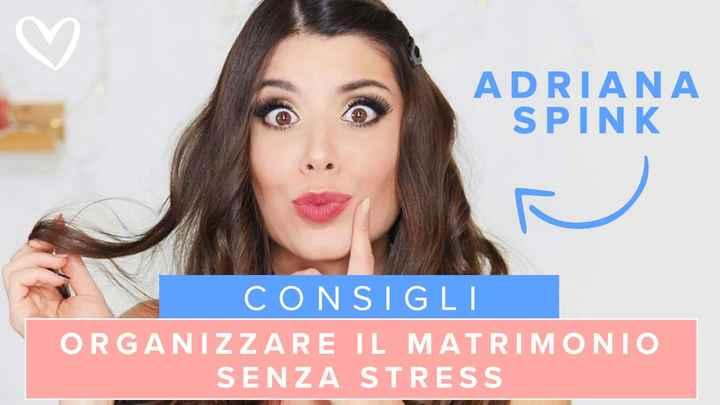 Adriana Spink: 5 step fondamentali per organizzare il matrimonio senza stress - 1