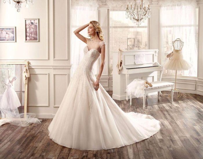 fc90fb27020e Collezione abiti da sposa nicole fashion group 2016 - Moda nozze ...