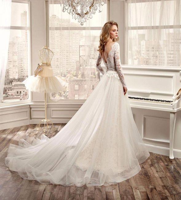 abbastanza Collezione abiti da sposa nicole fashion group 2016 - Moda nozze  WN37