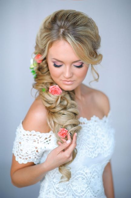 Acconciatura parrucchiera sposa
