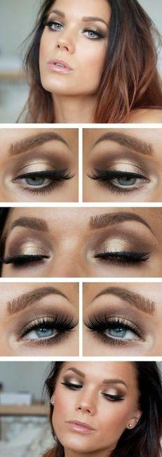 How To Apply Eye Makeup For A Wedding : 5 acconciature semi-raccolte per le tue nozze autunnali ...
