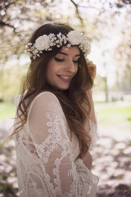 Accessori capelli sposa  Coroncina o corona di fiori  - Pagina 3 ... 6d9212415320