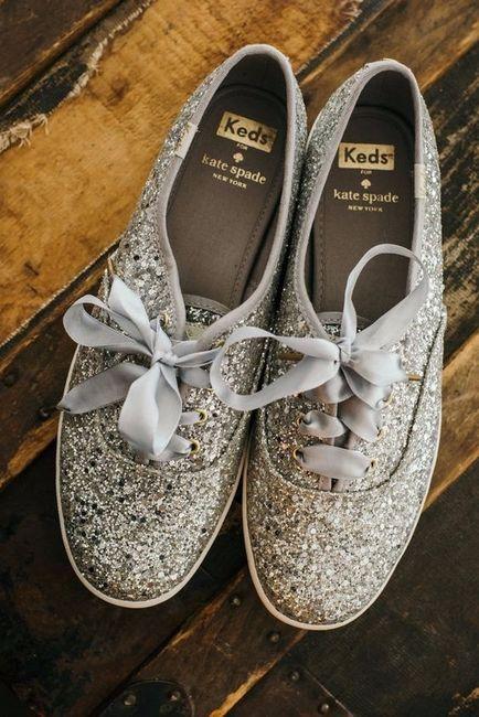 Hai comprato le scarpe di ricambio per il ricevimento?