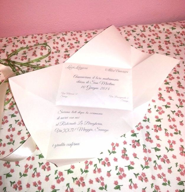 Popolare Partecipazioni origami help impaginazione! - Fai da te - Forum  XR08