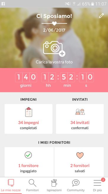 countdown di Matrimonio.com