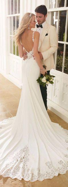 Il mio vestito da sposa sarà firmato...