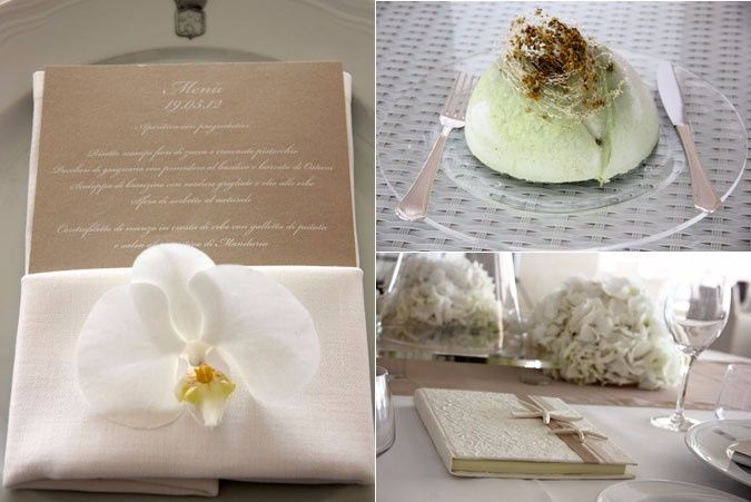 Segnaposto Matrimonio Tema Napoli : Segnaposto matrimonio tema orchidea fai da te forum