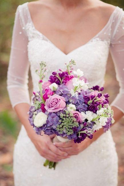 Sei una sposa principessa o sirena? Bouquet sposa