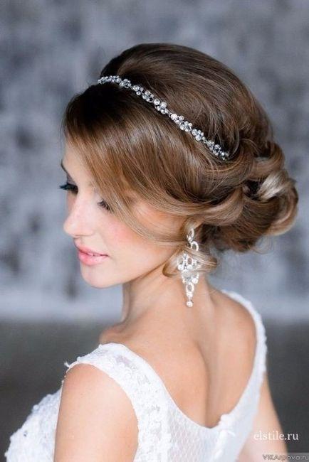 Sei una sposa principessa o sirena? Dettaglio acconciatura sposa