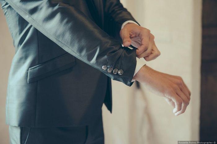 6 matrimoni.com: i dettagli dello sposo