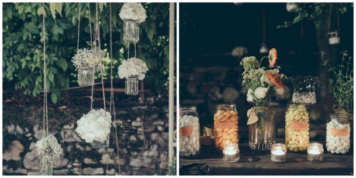 le decorazioni di nozze