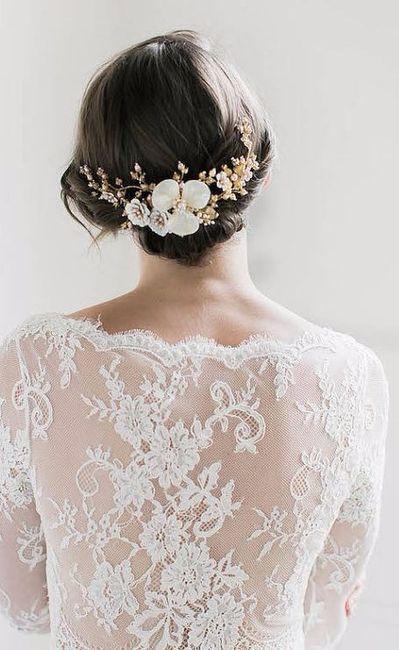 a) l'accessorio sposa di Debora