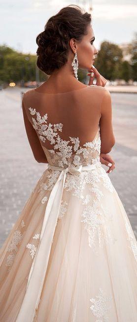 Abiti da sposa scollo a v schiena