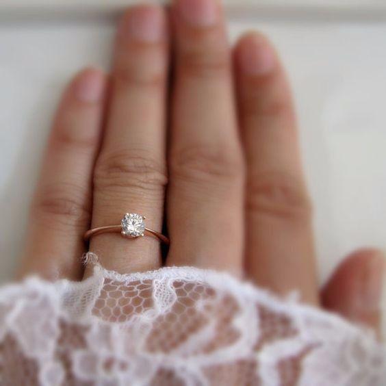 Il segno zodiacale delle tue nozze - anello di fidanzamento 5
