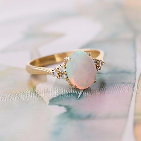 Il segno zodiacale delle tue nozze - anello di fidanzamento 7