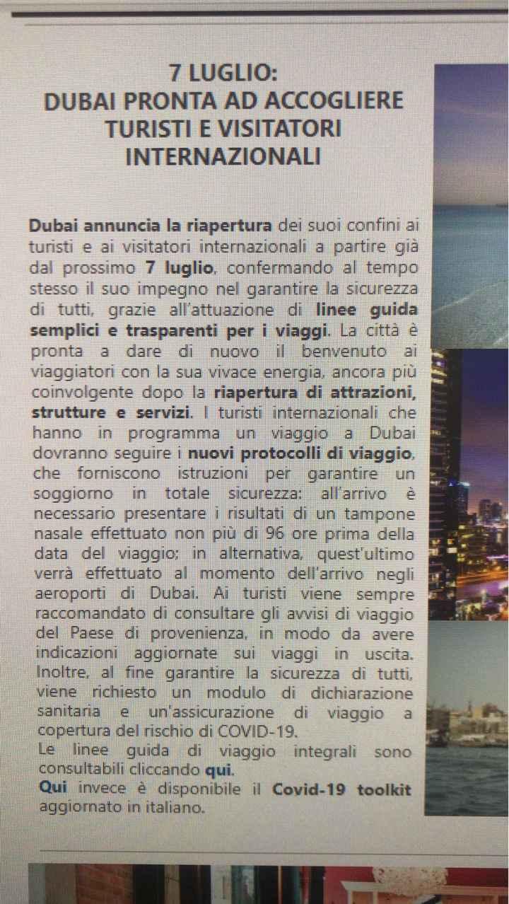 Partenza Dubai settembre 2020 - 1