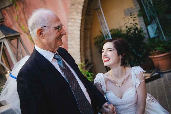 La prima figlia che si sposa