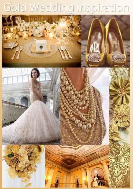 matrimonio in oro