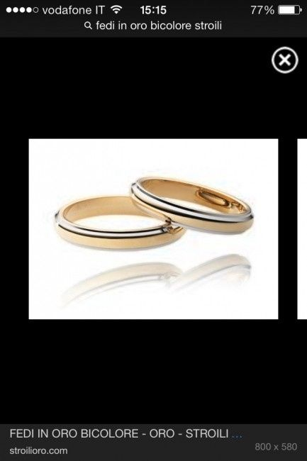 comprare on line d3a9d f50d2 Opinioni fedi Stroli - Organizzazione matrimonio - Forum ...