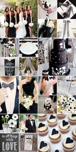Matrimonio Tema Bianco : Tema matrimonio bianco e nero help pagina