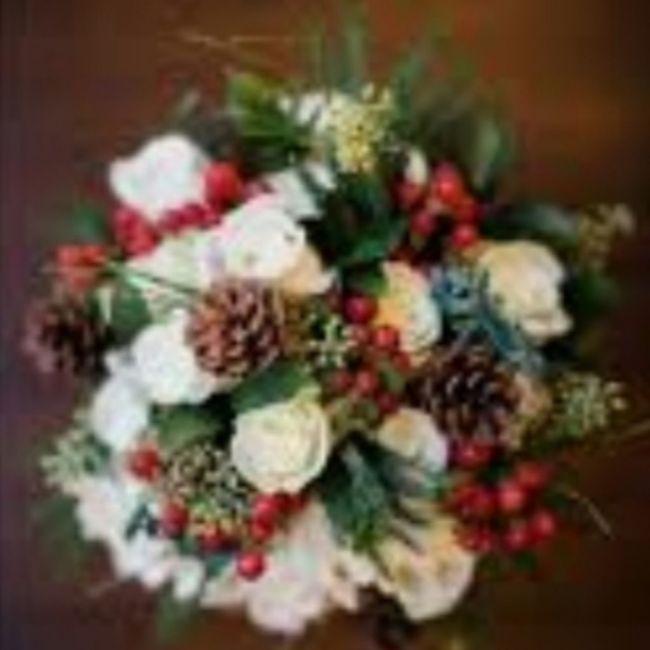 Bouquet natalizio 🎄 confido in voi colleghe 😎 10