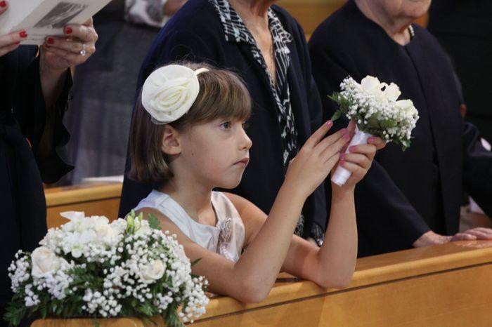 bouquet piccolino per la damigella