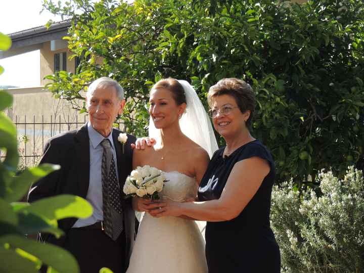 con mamma e papà