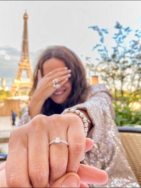 "i said ""yes""! 💍🤍 3"