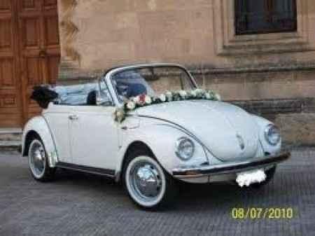La nostra auto di nozze