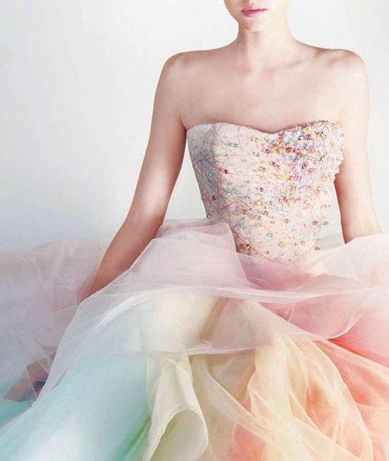 Matrimonio con i colori dell'arcobaleno.. 2