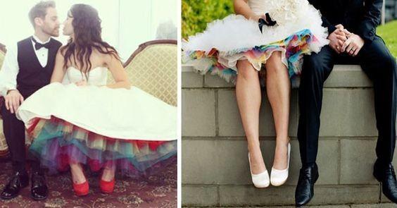 Matrimonio con i colori dell'arcobaleno.. 3