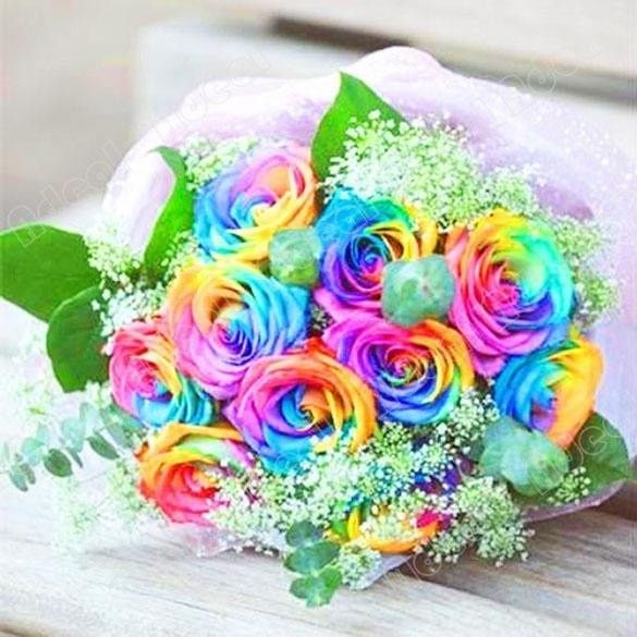 Matrimonio con i colori dell'arcobaleno.. 6