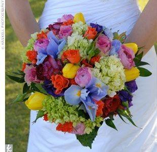 Matrimonio con i colori dell'arcobaleno.. 7