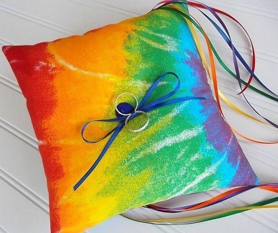 Matrimonio con i colori dell'arcobaleno.. 12