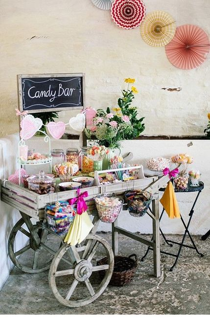 Shabby Candy Bar