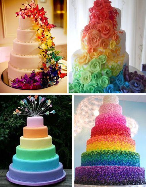 Matrimonio con i colori dell'arcobaleno.. 22