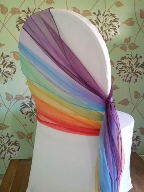 Matrimonio con i colori dell'arcobaleno.. 23