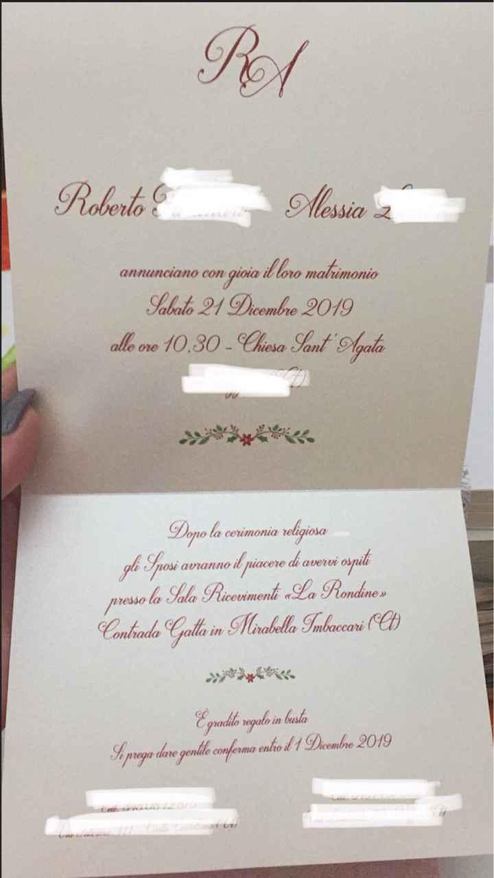 Partecipazioni e viaggio nozze! - 1