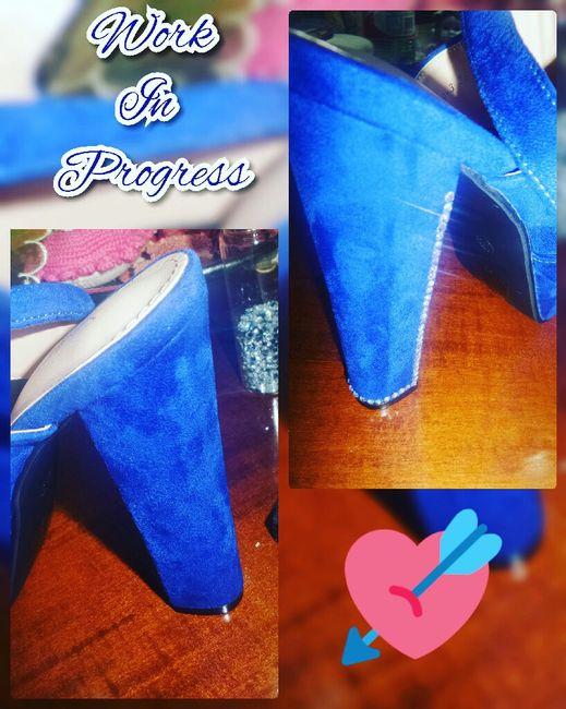 Le mie scarpe work in progress - 1