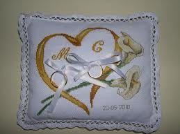 Punto Croce Cuscino Fedi.Portafedi Prima Delle Nozze Forum Matrimonio Com