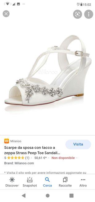 Consiglio scarpa 1