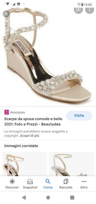 Consiglio scarpa 2