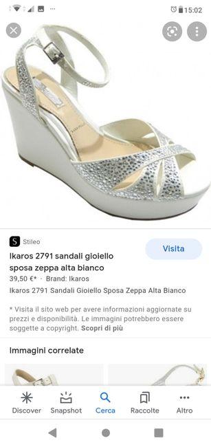 Consiglio scarpa 3